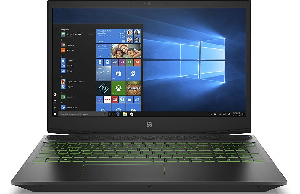 HP Pavilion Gaming Laptop 15-cx0020nr