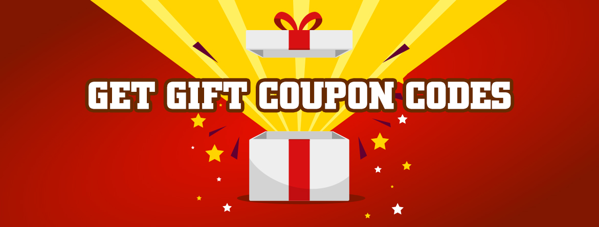 Get gift Coupon Codes