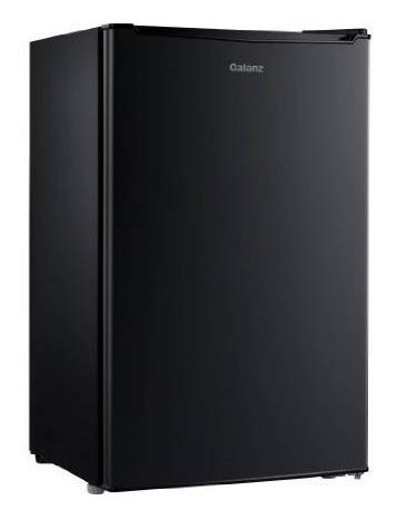 Galanz 3.5 cu ft Compact Single-Door Refrigerator, Black