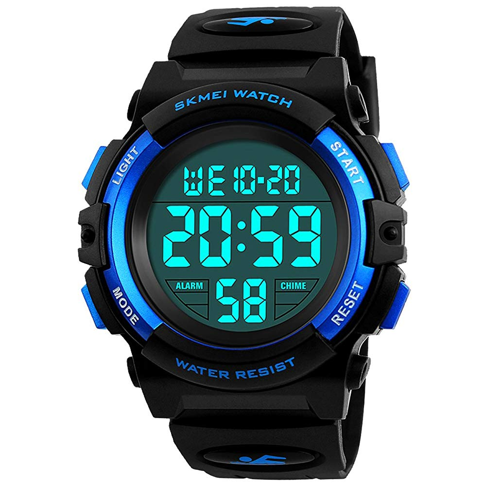 Kids Digital Watch, Boys Sports Waterproof Led Watches With Alarm Wrist Watches For Boy