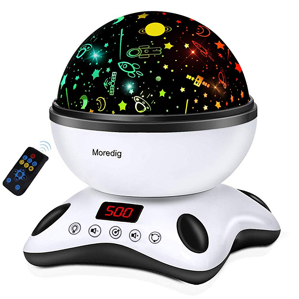 Moredig Night Light Projector