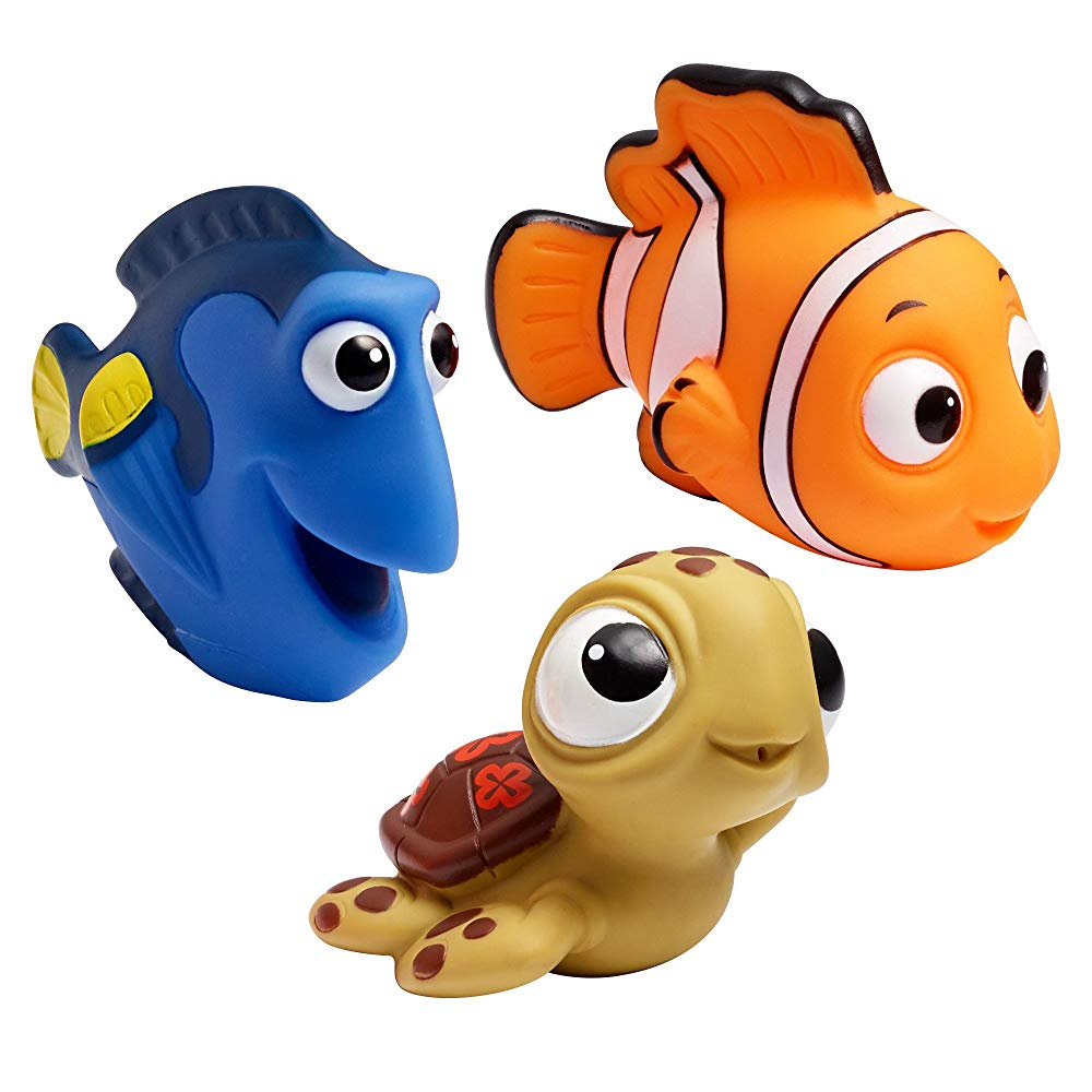 Finding Nemo, Disney Baby Bath Squirt Toys