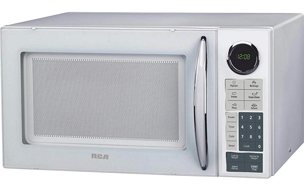 RCA 0.9 Cubic Feet Microwave Oven, White