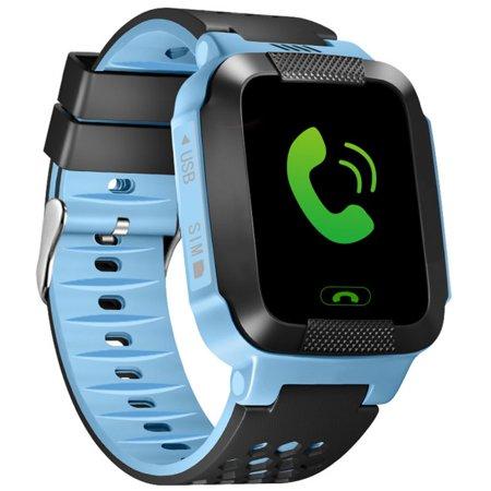 ZEDWELL Smart Watch With Tracker Phone Call For Kids, Digital Wrist Watch, Sport Smart Watch, GPS Tracker Anti-Lost SOS