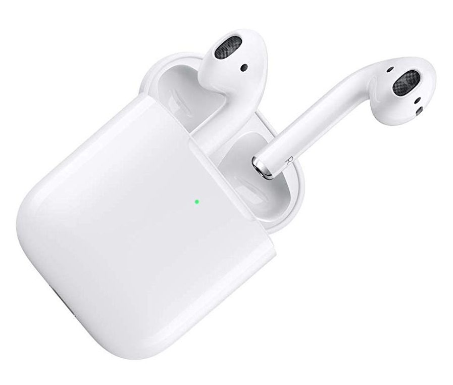 Apple air pod with charging case