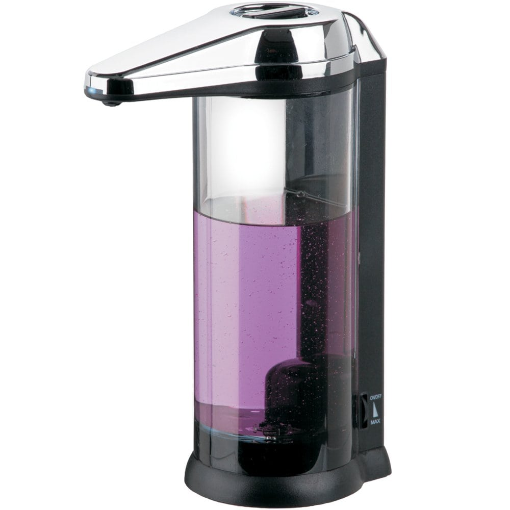 Touchless Clear Chamber Hands Free Soap Dispenser