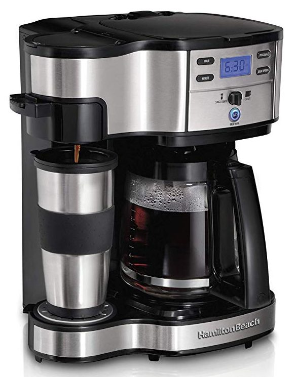 Hamilton Beach 49980A 2-Way Brewer Coffee Maker