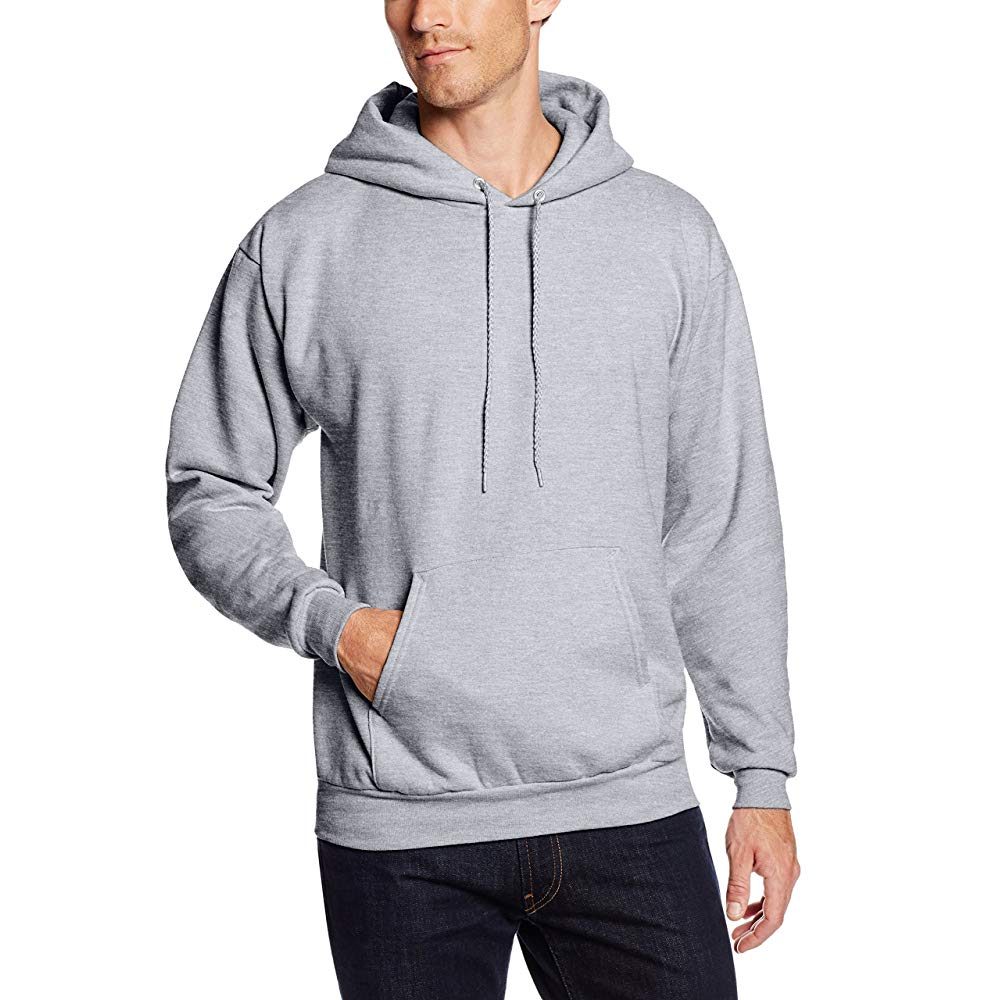Hanes men's pullover eco-smart