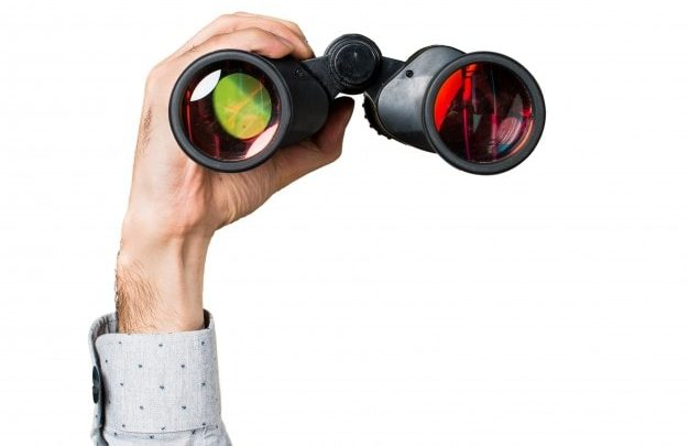 Use binoculars for taking clear cut photos of far objects