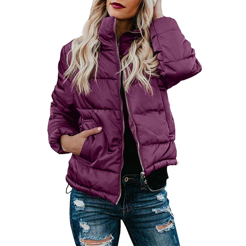 Asyoly Puffer Jacket Women Down Jackets