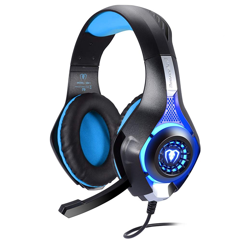 BlueFire Professional 3.5mm PS4 Gaming Headset Headphone With Mic