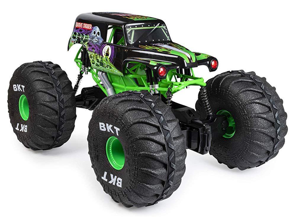 Monster Jam Mega Grave Digger RC Truck