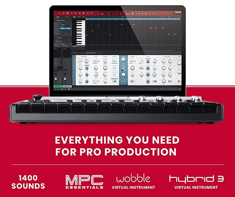 Akai Professional MPK Mini MKII 25-Key USB Keyboard & Pad Controller