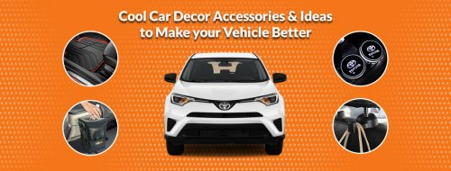 Cool Car Decor Accessories & Ideas You Should Try