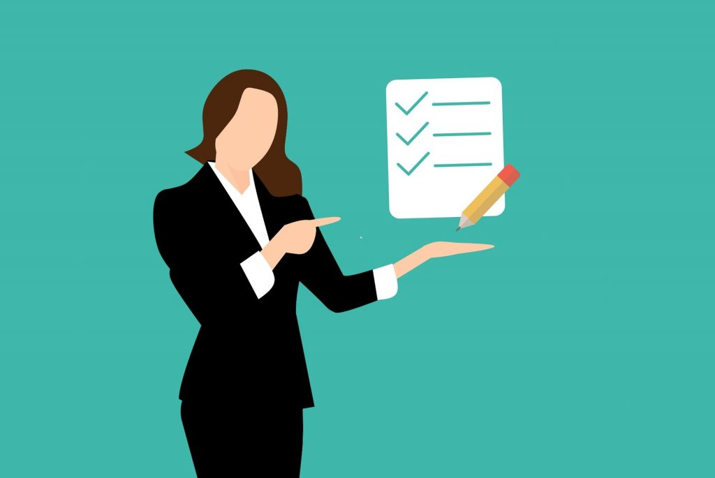 Maintain a Checklist of the Products You Plan to Buy