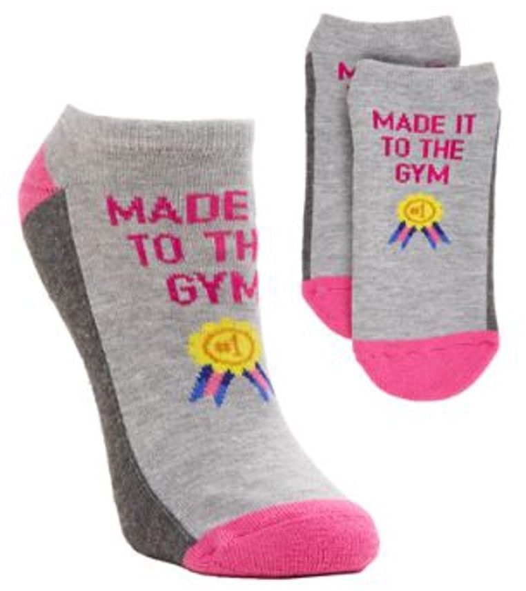 Hot Sox Women's Made It To The Gym No-Show Socks