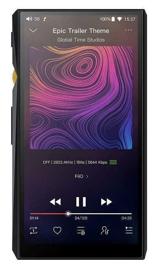 FiiO M11 Android High-Resolution Lossless Music Player with aptX, aptX HD