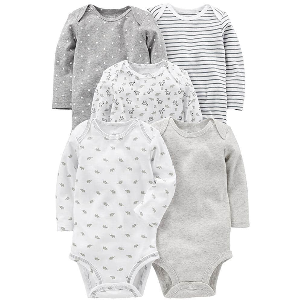 White Baby Bodysuits