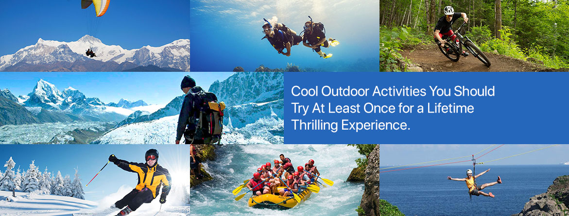 Cool Outdoor Sports Activities You