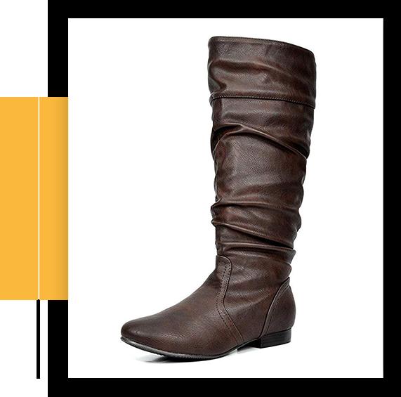 Women's BLVD Flat Knee High Boots