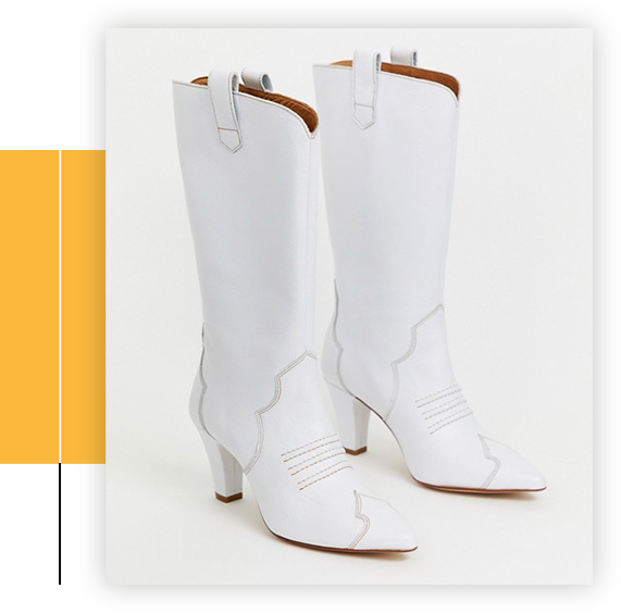 Ness Heeled Cowboy Boots
