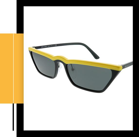 PR Women's Cat-Eye Sunglasses