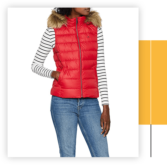 Women's Hooded Outdoor Gilet