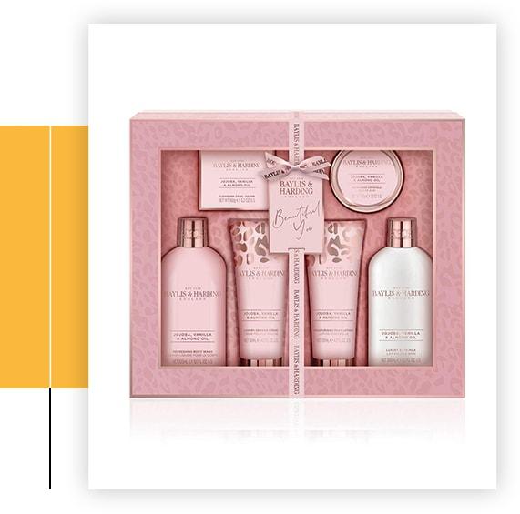 Jojoba, Vanilla & Almond Oil Ultimate Luxury Pamper Gift Set