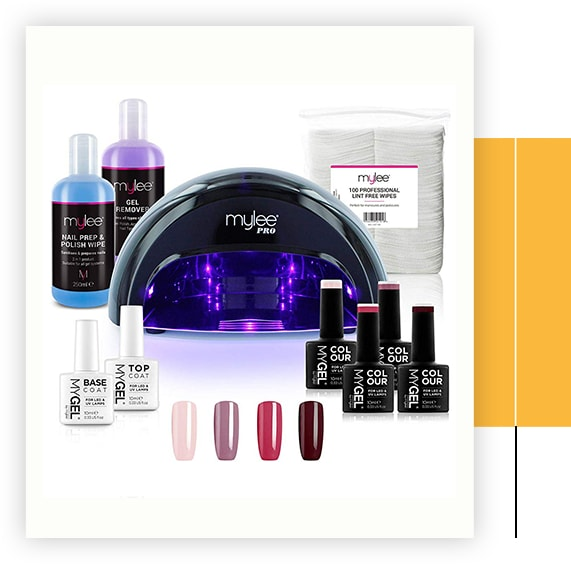 Complete Professional Gel Nail Polish LED Lamp Kit