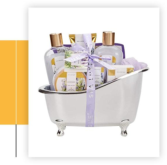 Rose Bath Gift Set