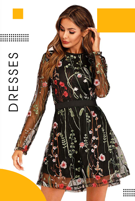 Latest Women's Dresses to Look Gorgeous and Stylish