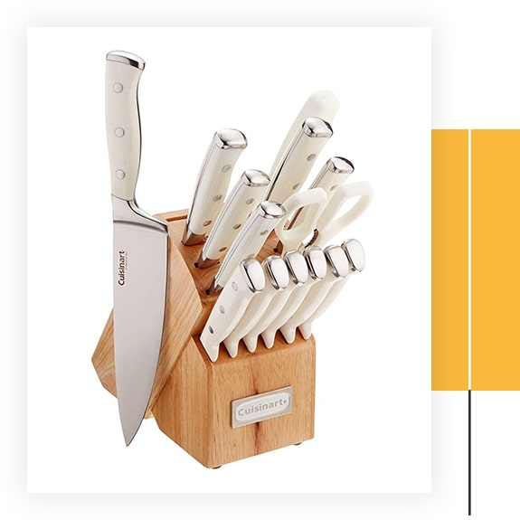 Triple Rivet Collection 15-Piece Cutlery Block Set