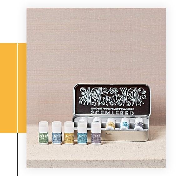 Aromatherapy Balm Mindful Minis Gift Set