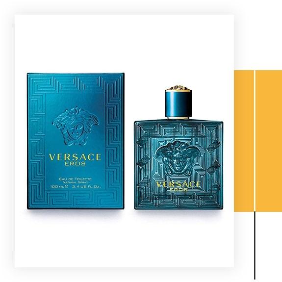 Versace Men's Eros Eau De Toilette Spray