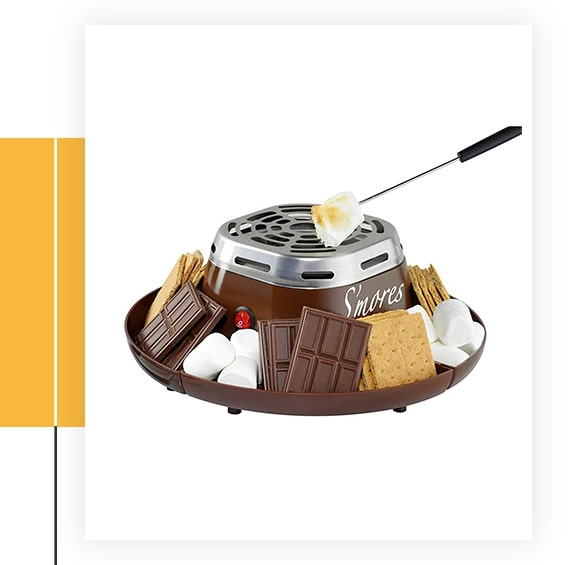 Nostalgia Indoor Electric S'mores Maker