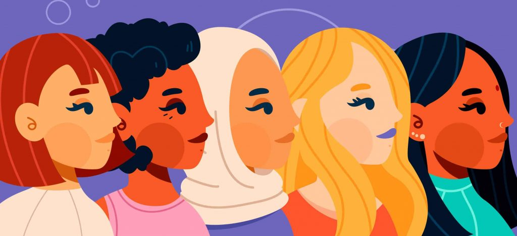 What are the colours that signify International Women's Day?