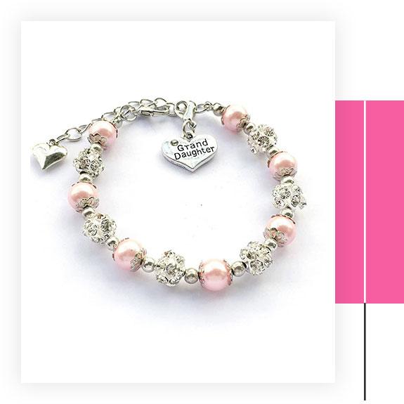 DOLON Granddaughter Charm Bracelet