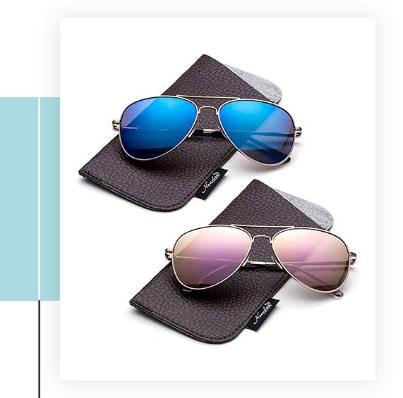 Kyra Kids Aviator Polarized Sunglasses
