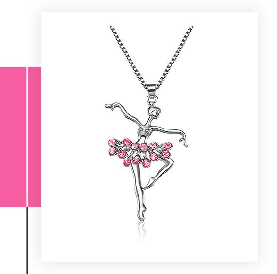 Lcbulu Little Girl Necklace