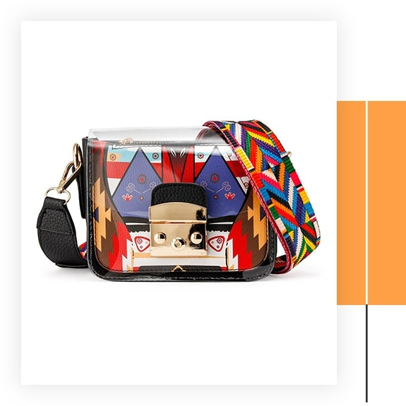 Oct17 Mini Transparent Crossbody Bag