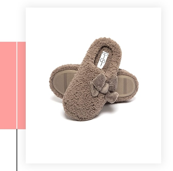 Jessica Simpson Plush Marshmallow Slide On