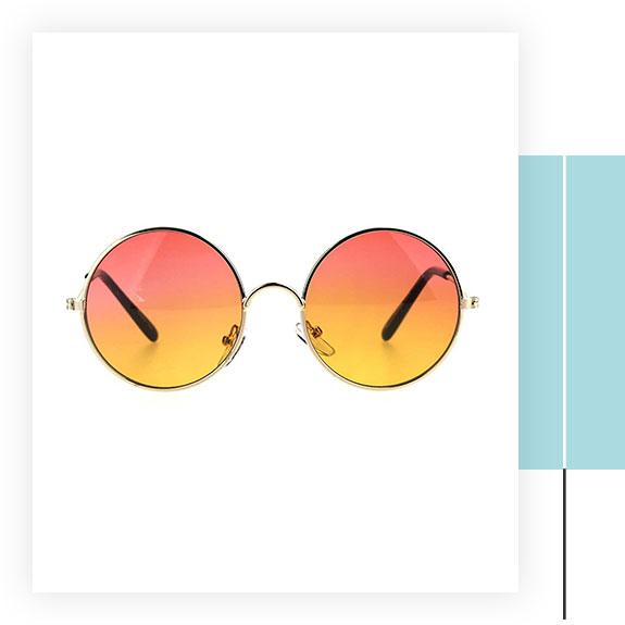 SA106 Kids Hippie Round Sunglasses