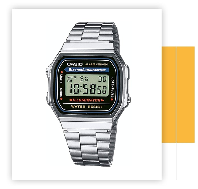 Casio Men's Vintage Electro Luminescence Watch