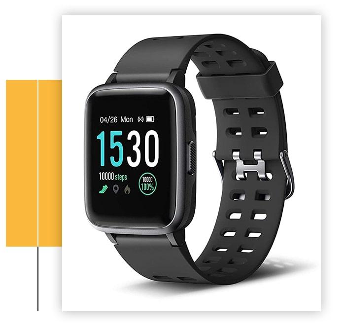 Letsfit IP68 Waterproof Smartwatch