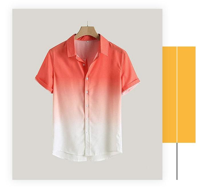 Haoricu Men's Short Sleeve Casual Shirt