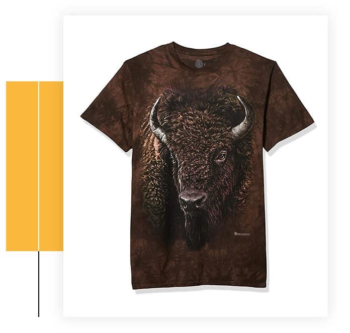 The Mountain Men's American Buffalo T-Shirt