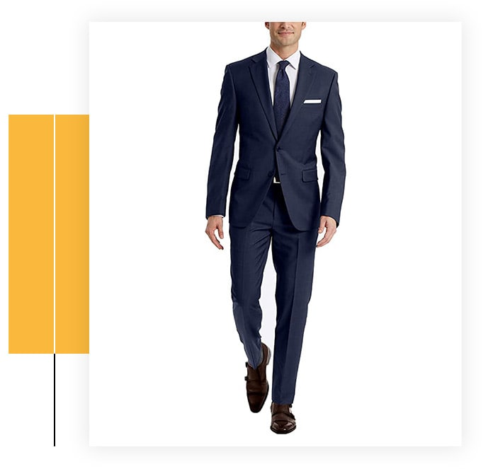 Calvin Klein Men's Slim Fit Suit