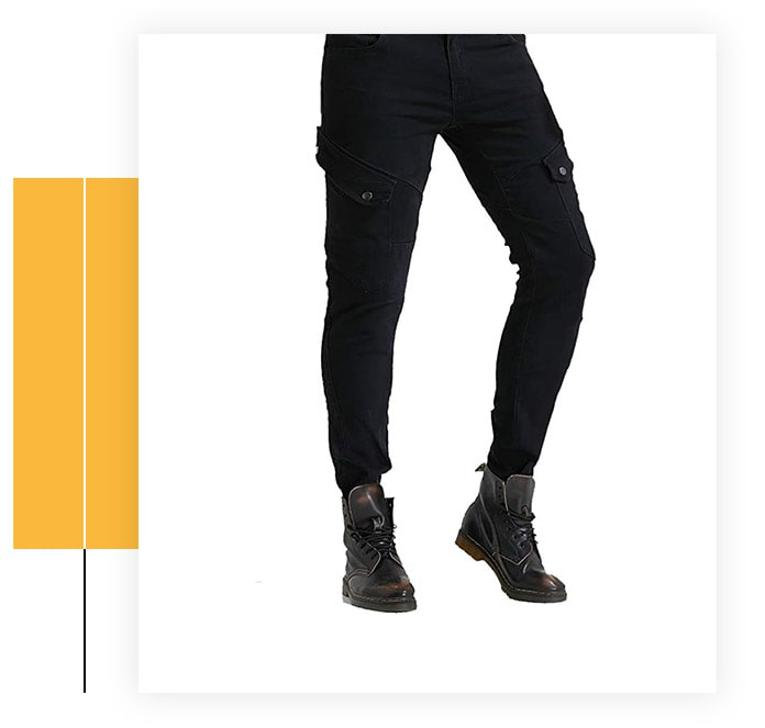 Motorcycle Riding Protective Jeans