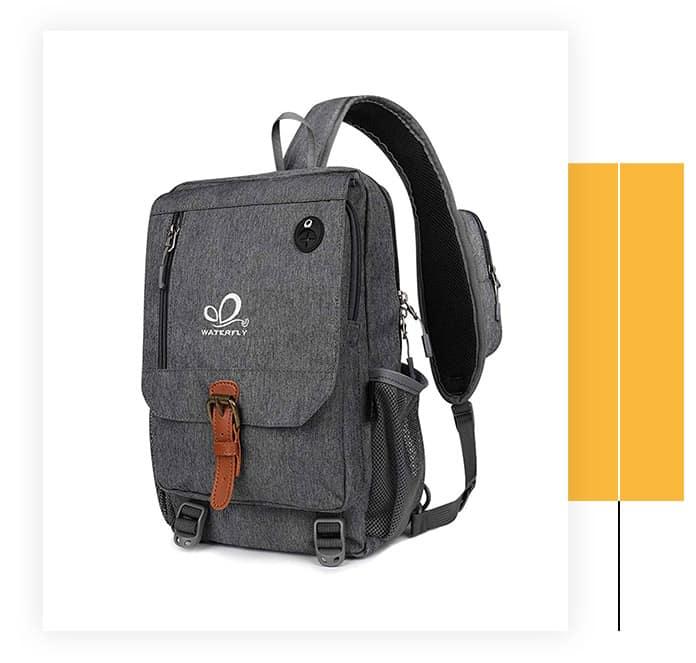 Waterfly Sling Laptop Shoulder Bag