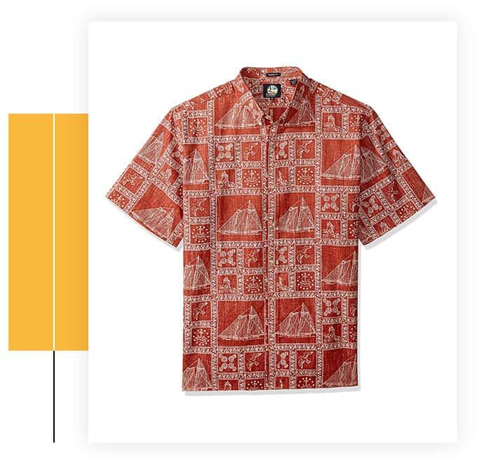 Reyn Spooner Men's Classic-Fit Hawaiian Shirt